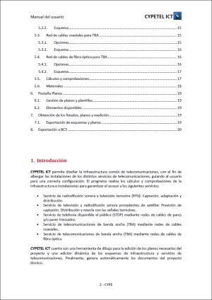CYPETEL ICT. Infraestructuras comunes de telecomunicaciones en el interior de edificaciones. RD 346/2011. Manual